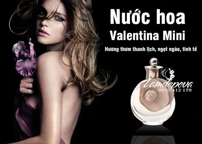 Set 4 chai nước hoa Valentina Mini 4ml Valentino Perfumes giá tốt 4