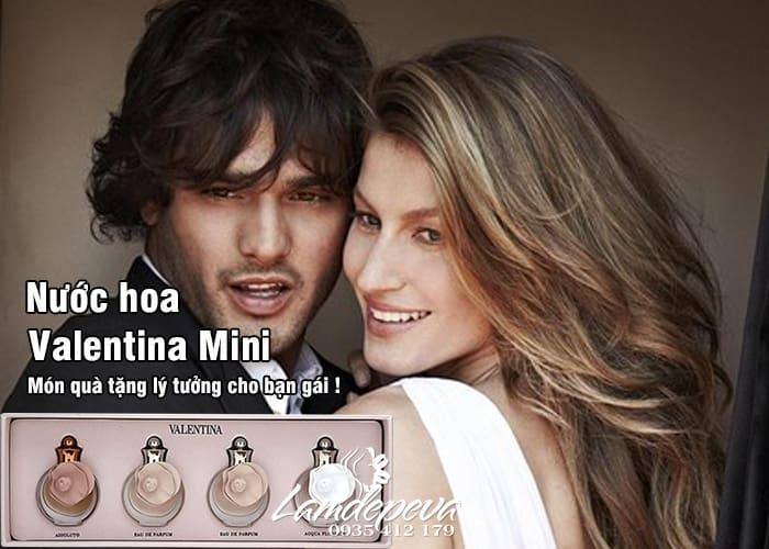 Set 4 chai nước hoa Valentina Mini 4ml Valentino Perfumes giá tốt 1