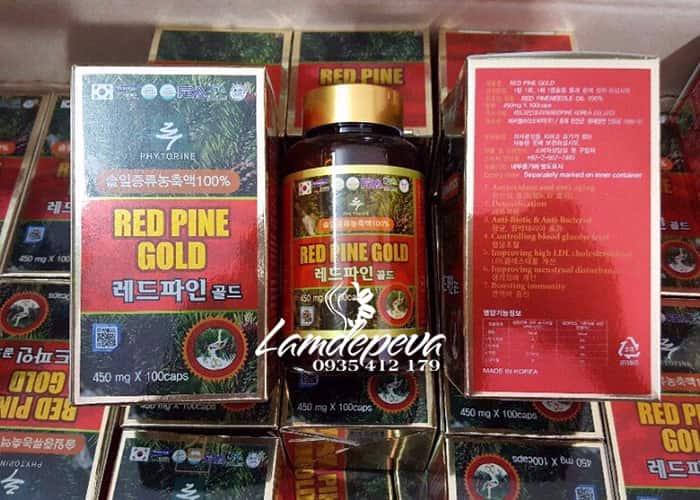 Tinh dầu thông đỏ Hàn Quốc Red Pine Gold 100 viên, giá tốt 5