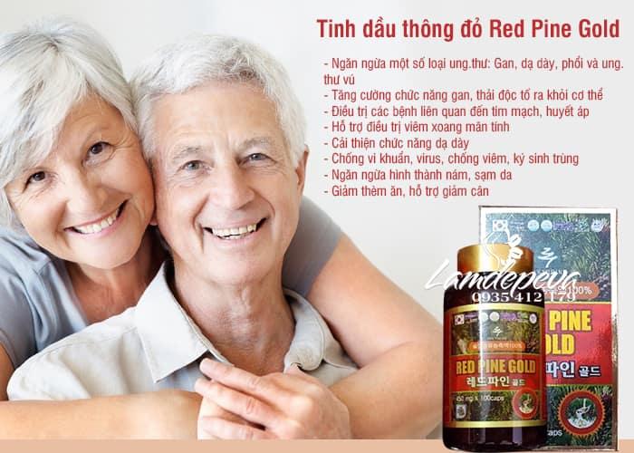 Tinh dầu thông đỏ Hàn Quốc Red Pine Gold 100 viên, giá tốt 2