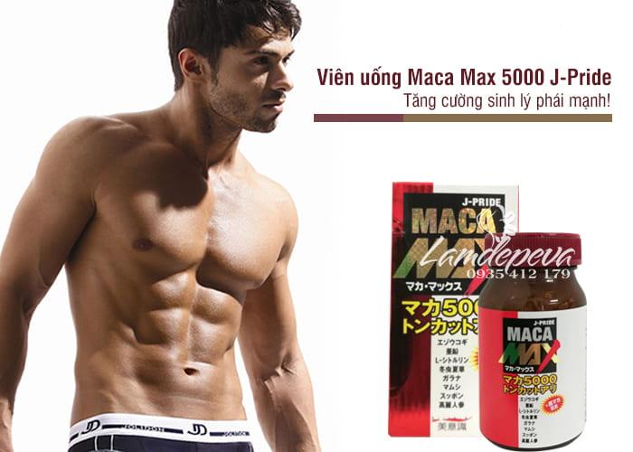 Viên uống Maca Max 5000 J-Pride 84 viên chính hãng Nhật Bản 1