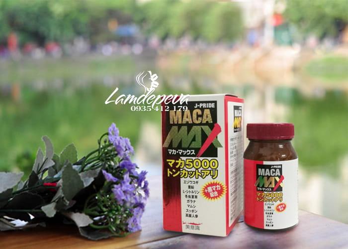 Viên uống Maca Max 5000 J-Pride 84 viên chính hãng Nhật Bản 4