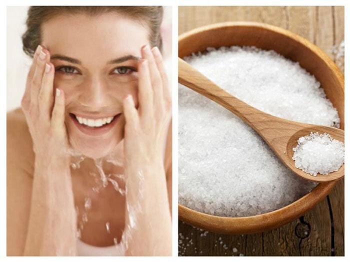 Bật mí bí quyết vệ sinh mặt bằng nước muối cho làn da sáng đẹp hơn 1