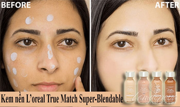 Kem nền L'oreal True Match Super-Blendable SPF17 giá