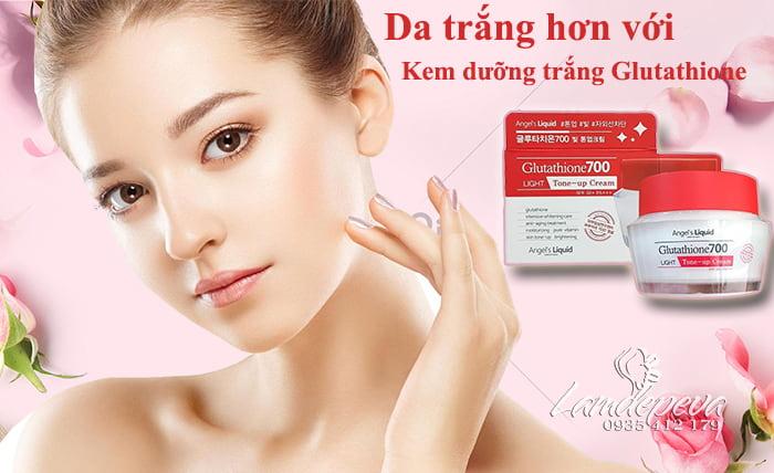 Kem dưỡng trắng Glutathione 700 Light Tone Up Cream 50ml Hàn Quốc1