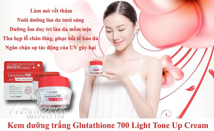Kem dưỡng trắng Glutathione 700 Light Tone Up Cream 50ml Hàn Quốc2