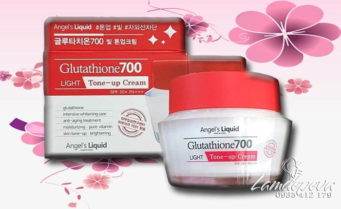 Kem dưỡng trắng Glutathione 700 Light Tone Up Cream 50ml Hàn Quốc