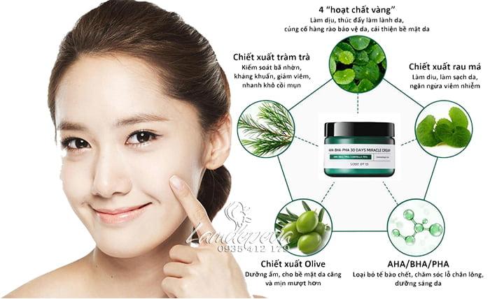 Kem dưỡng trị mụn Some By Mi AHA BHA PHA Hàn Quốc hũ 60g 2