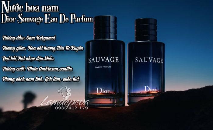 Nước hoa Dior Sauvage Eau De Parfum 100ml phiên bản 20183