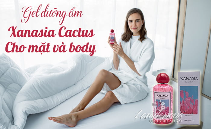 Gel dưỡng ẩm Xanasia Cactus Gel 300ml1