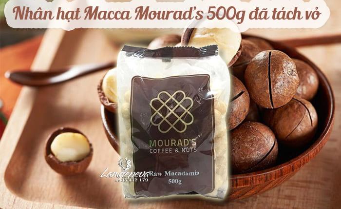 Nhân hạt Macca Mourad's 500g đã tách vỏ, xách tay Úc
