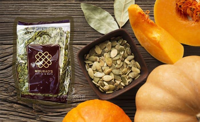 Hạt bí Mourad's 500g Úc - Hạt bí bóc sẵn, ngon, tốt cho sức khỏe2