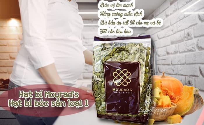 Hạt bí Mourad's 500g Úc - Hạt bí bóc sẵn, ngon, tốt cho sức khỏe1