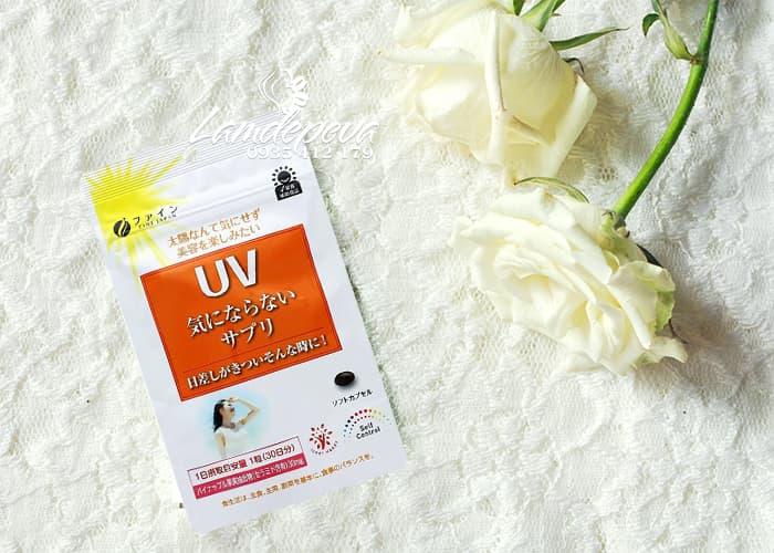Viên uống chống nắng UV Fine Japan gói 30 viên của Nhật Bản  1