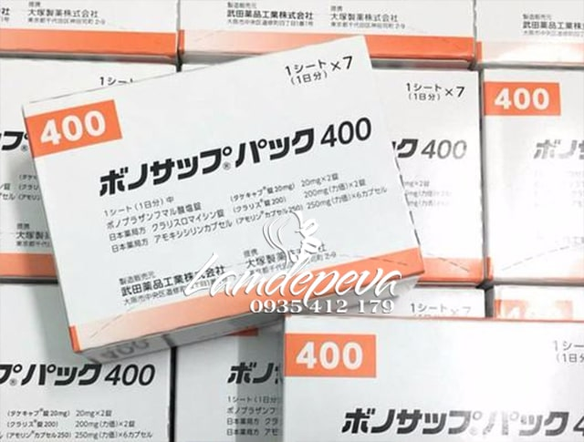 Thuốc đặc trị vi khuẩn HP Lansup 400 hỗ trợ dạ dày 8