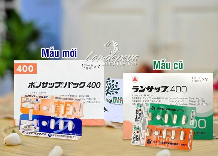 Thuốc đặc trị vi khuẩn HP Lansup 400 hỗ trợ dạ dày 1