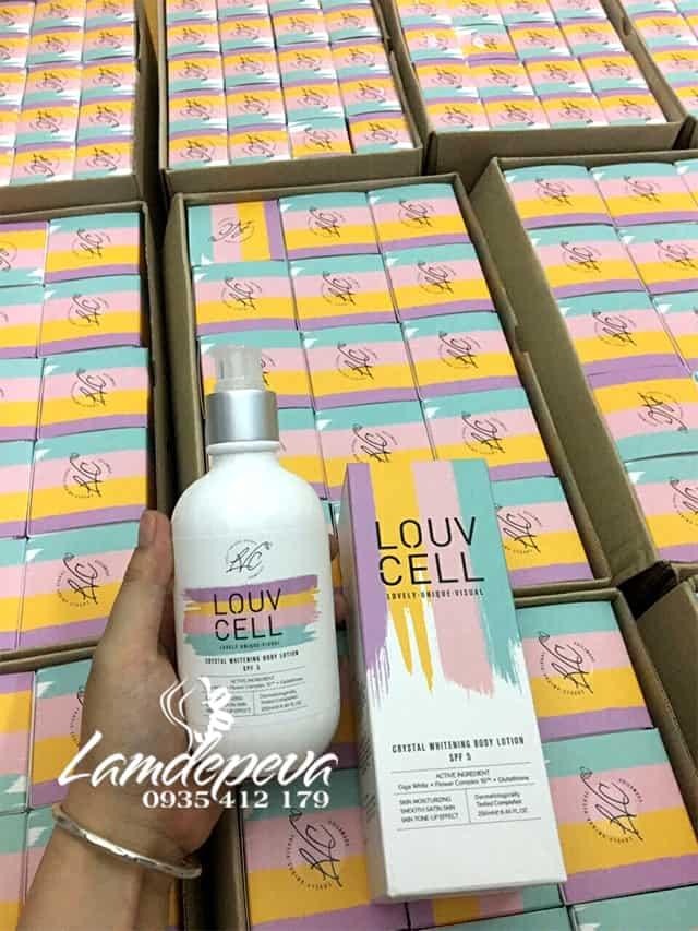 Lotion dưỡng trắng da Louv Cell cho body của Hàn Quốc, giá tốt 5