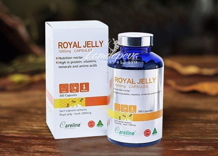 Sữa ong chúa Careline Royal Jelly 1000mg 300 viên của Úc 1