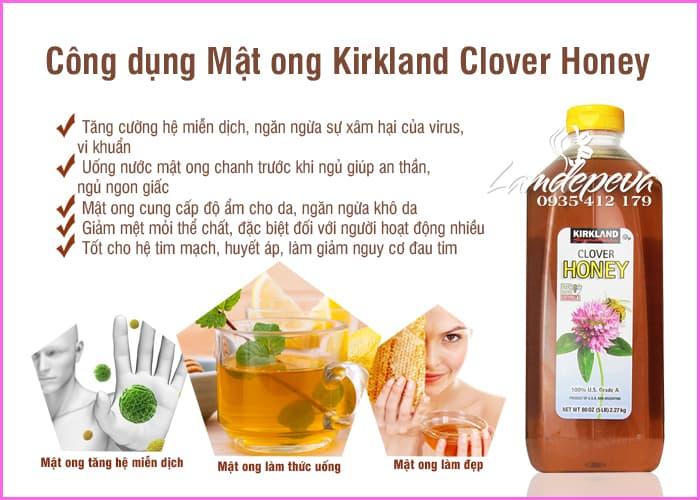 Mật ong Kirkland Honey Clover 2,27kg - Mật ong USA 6