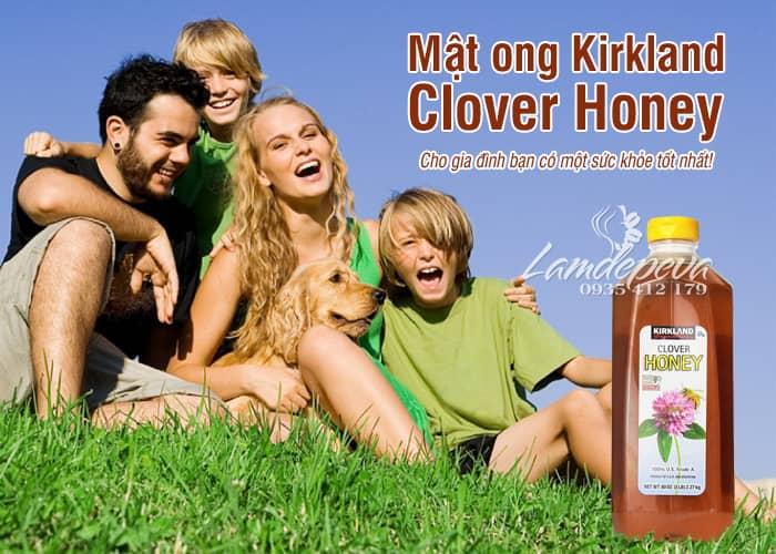 Mật ong Kirkland Honey Clover 2,27kg - Mật ong USA 1
