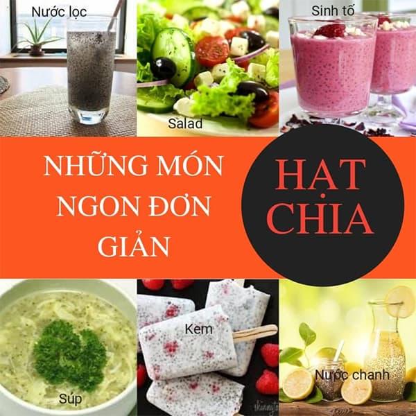 Hạt chia hữu cơ Úc Healthy Nuts & Seeds Organic Chia 250g 9