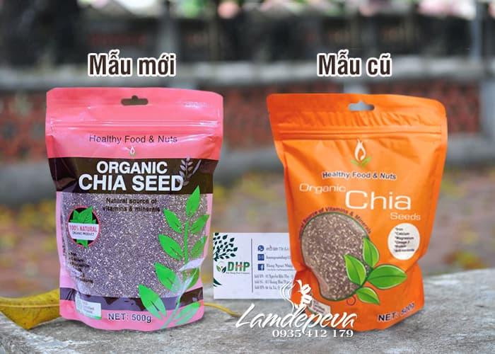 Hạt chia hữu cơ Úc Healthy Nuts & Seeds Organic Chia 250g 1