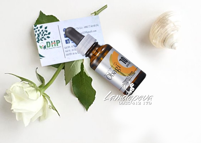 Serum làm sáng da mờ thâm Obagi Vitamin C10 chai 26ml Nhật 00