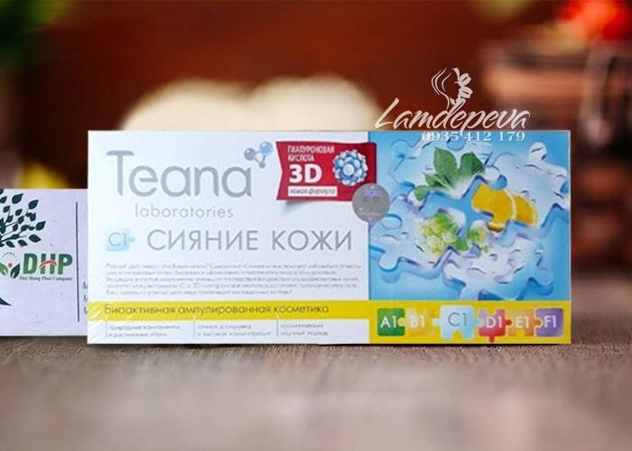 Tinh chất collagen tươi Teana C1 xách tay Nga chính hãng 9