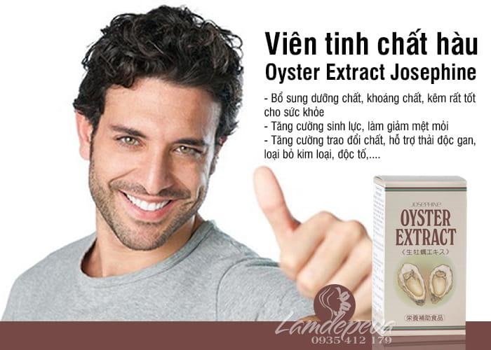 Viên tinh chất hàu Nhật Bản Oyster Extract Josephine 90 viên 5