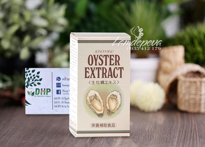 Viên tinh chất hàu Nhật Bản Oyster Extract Josephine 90 viên 0