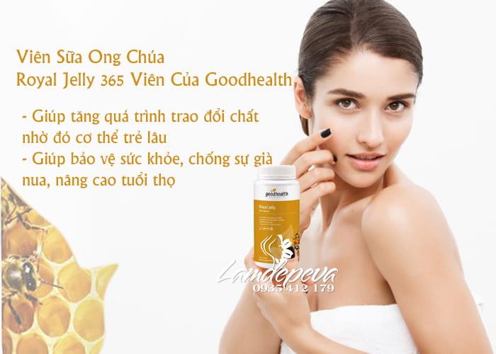 Viên Sữa Ong Chúa Royal Jelly 365 Viên Của Goodhealth 2
