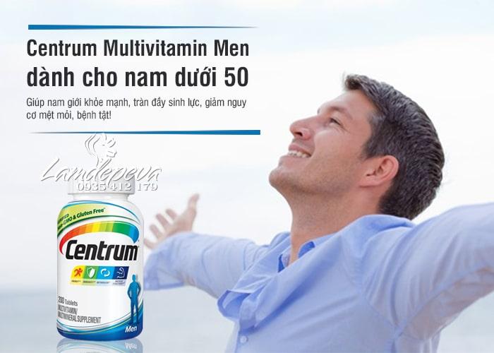 Vitamin tổng hợp cho nam Centrum Men 200 viên (dưới 50 tuổi) 2