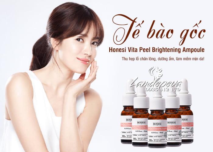 Tế bào gốc Honesi Vita Peel Brightening Ampoule Hàn Quốc 1