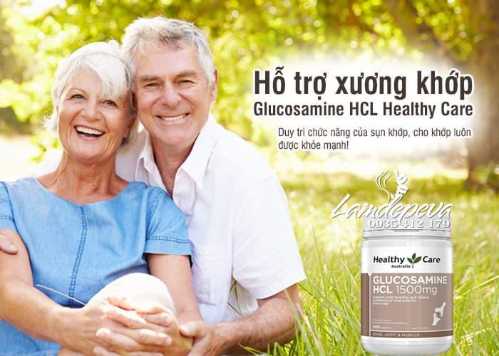 Glucosamine HCL 1500mg của Úc hãng Healthy Care  8