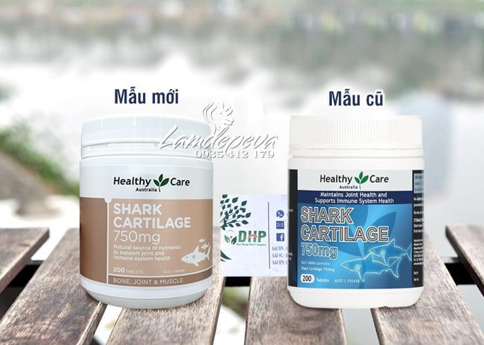 Sụn vi cá mập Healthy Care Shark Cartilage 750mg Úc, giá tốt 2