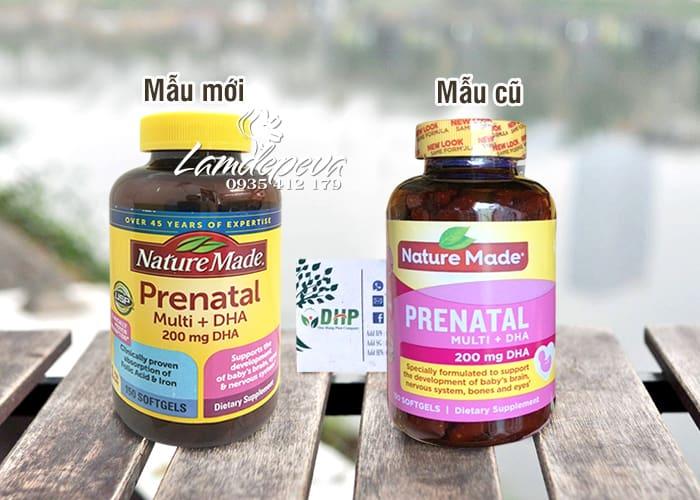 Viên bổ sung vitamin + DHA Prenatal Nature Made 150 viên 5