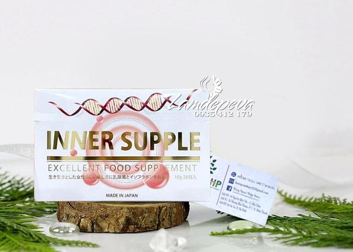 Nước uống Inner Supple 28 ngày Nhật Bản - Tăng nội tiết tố  6