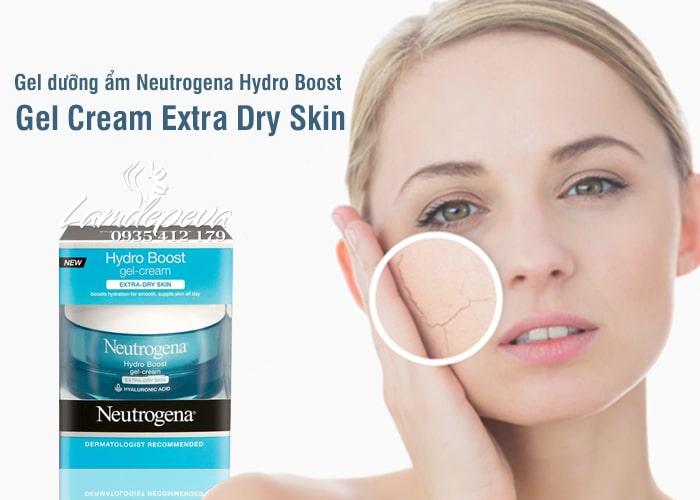 Gel dưỡng ẩm Neutrogena Hydro Boost Gel Cream Extra – Dry Skin Mỹ 3