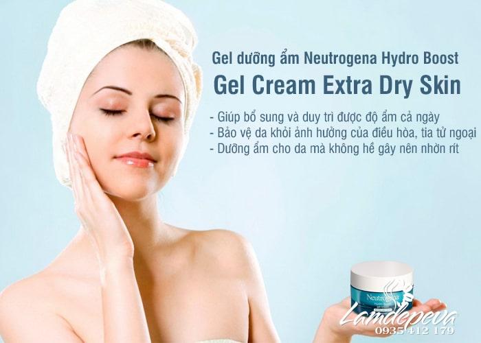 Gel dưỡng ẩm Neutrogena Hydro Boost Gel Cream Extra – Dry Skin Mỹ 2