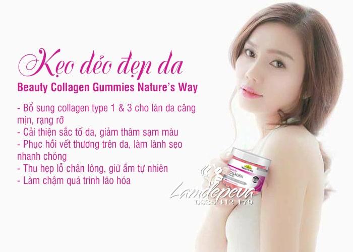 Kẹo dẻo Beauty Collagen Gummies Nature's Way 40 viên Úc 9