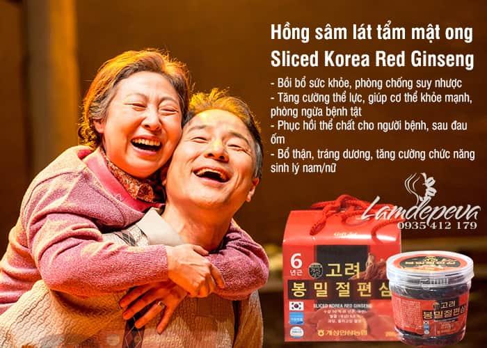 Hồng sâm lát tẩm mật ong Hàn Quốc 200g Sliced Korea 7