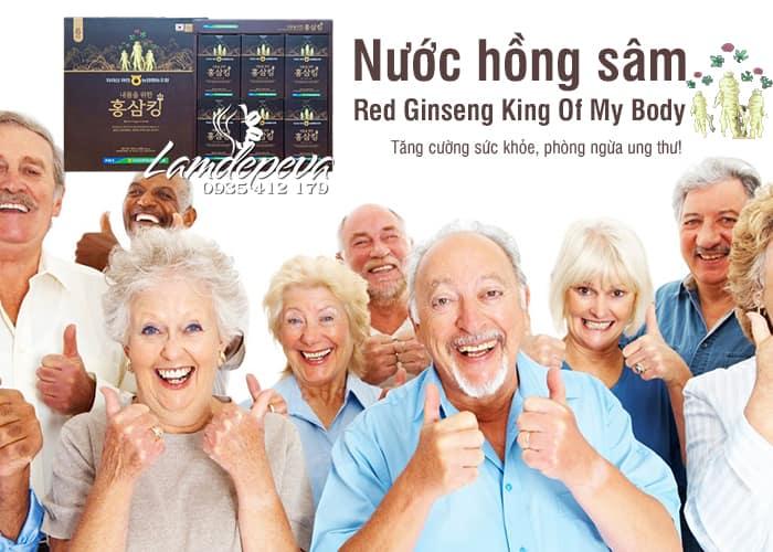Nước hồng sâm vua Red Ginseng King Of My Body 30 gói 4