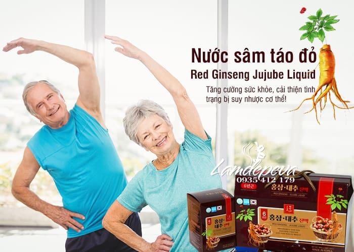 Nước hồng sâm táo đỏ Red Ginseng Jujube Liquid Hàn Quốc 30 1