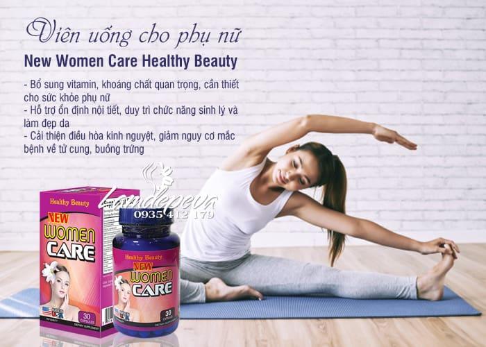 Viên uống New Women Care 30 viên Healthy Beauty chính hãng 5