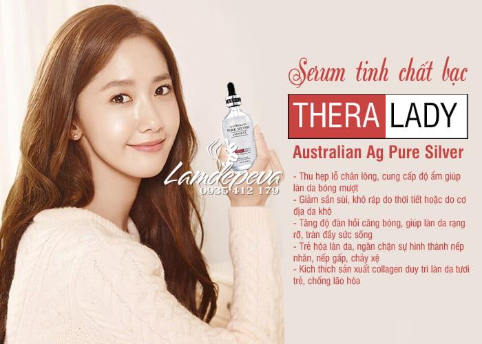 Serum bạc Thera Lady Australian Ag Pure Silver Ampoule 100ml 9