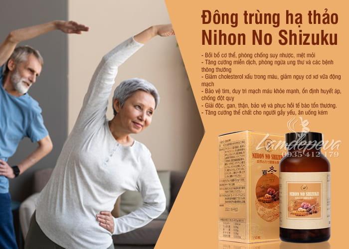 Đông trùng hạ thảo Nihon No Shizuku cao cấp của Nhật Bản 1