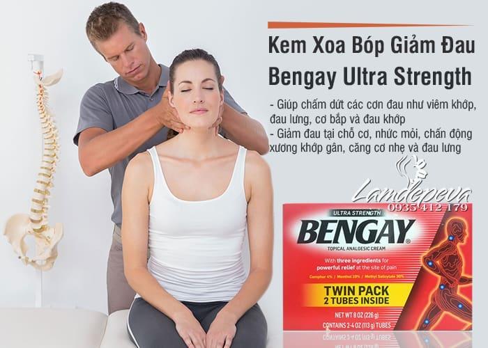 Kem xoa bóp giảm đau Bengay Ultra Strength của Mỹ 113g 9