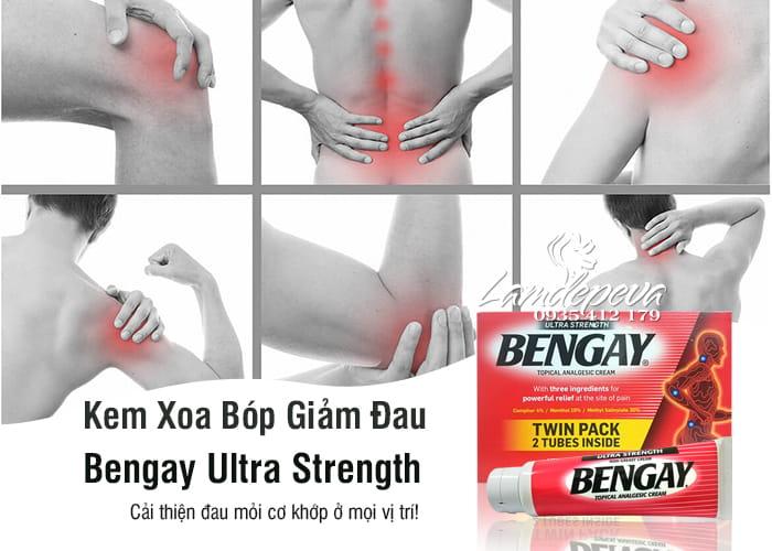 Kem xoa bóp giảm đau Bengay Ultra Strength của Mỹ 113g 4