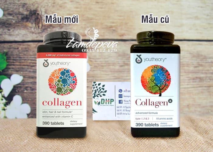 Youtheory Collagen +C Type 1,2 & 3 - 390 Viên Của Mỹ 1