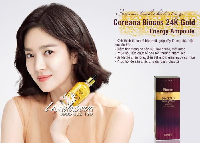 Serum Biocos 24K Gold Energy Ampoule Coreana 100ml Hàn 8